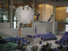 The German federal parliament