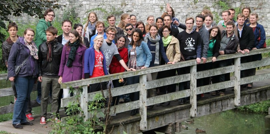 Group picture of the first cross-border seminar in Maastricht in 2012.