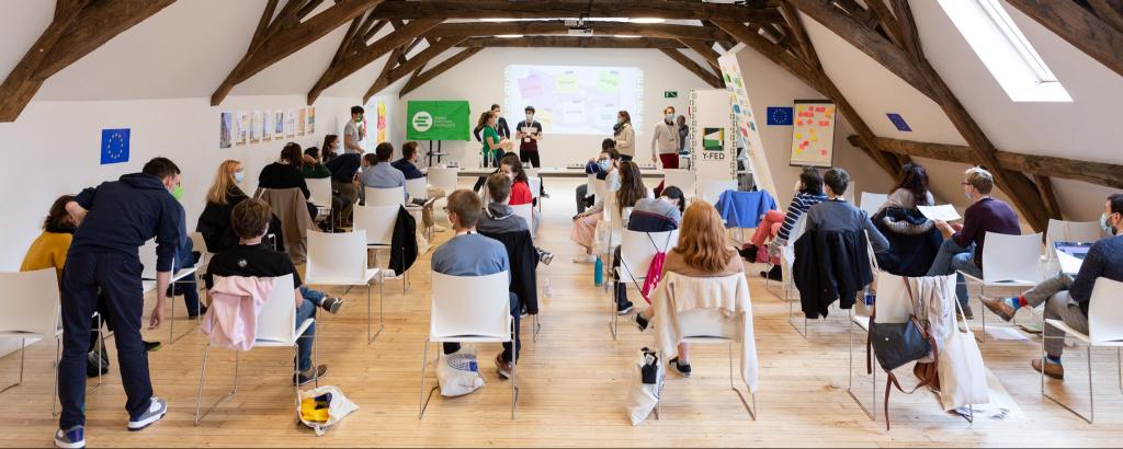 Y-FED hackathon event in 2020 in Liège