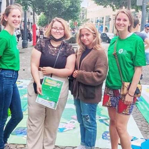 Y-FED Street Action Liège
